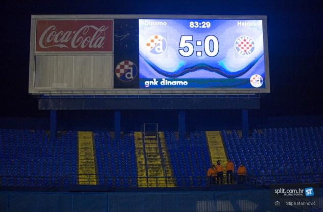 1/4 finala Kupa: Dinamo - Hajduk 5:0 | splitski.portal